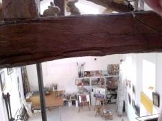 zicht vanaf mezzanine