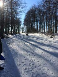 La Grand Echaillon (luge & ski de fond)