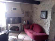 Huiskamer met haard